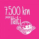 7.500km jusque Haïti